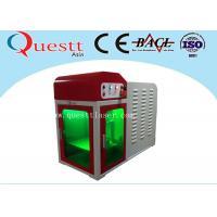 China High Precision Mini Laser Engraving Machine , Desktop Engraving Machine With PC Control on sale
