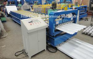 China Double Layer Roofing Sheet Roll Forming Machine Width 1200mm , 3 Phase on sale