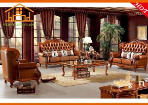 Quality Indian Wooden Sofa Design Wooden Classic Sofa American Classic  Wooden Sofa Set Luxury European Living