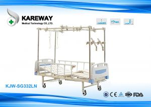 China Traction Equipment Adjustable Electric Beds Split Legs For Medical Rehabilitation Centre , 250KGS Safe Load on sale