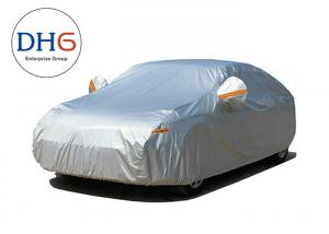 China Soft Cloth Waterproof Outdoor Car Cover Rain Protection Polyester Non PP Cotton on sale