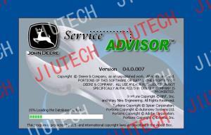 China John Deere Scanner , Service Advisor 4.0 AG on sale