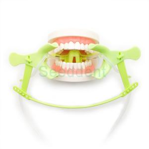 China Dental Cheek Retractos / Orthodontic Use Tongue Guard Cheek Retractor with Dry Field System Tubing suction SE-O094 on sale