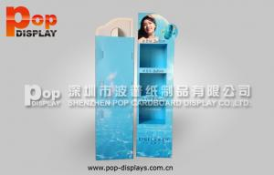 China Longlasting Print Shelving Cosmetic Display Stands For Sunblock ODM on sale