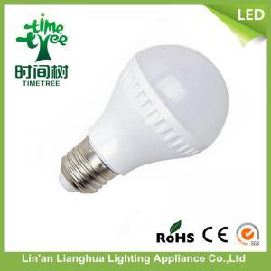 China Energy Saving LED Light Bulb 7W , 220V / 110 V/ 12V Plastic A60 LED Bulb on sale
