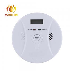 China Home Security LCD Carbon Monoxide Detector High Sensitive Alarm Detecting on sale