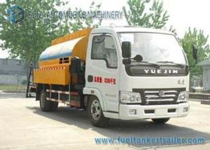 China YUEJIN 2 Axles Asphalt Tanker Trailer Bitumen Asphalt distributor truck 4X2 Drive on sale