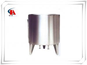 China Mirror Polished Stainless Steel Tanks CIP Cleaning In Water Production Line on sale