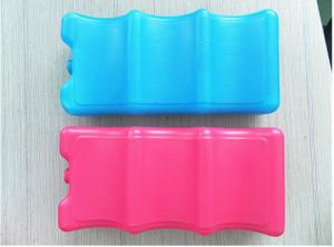 China Fit & Fresh Cool Slim Lunch Ice Gel Packs Blue 4 Ice Packs For Adult Camping on sale