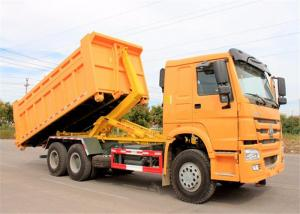 China Right Hand Drive HOWO 6X4 Hook Lift Garbage Truck 15t 20t Refuse Compactor Truck on sale