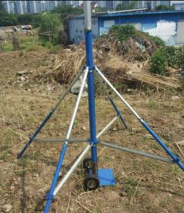 antennin masto portable tripod TV antenna mast telescopic