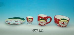 China Ceramic Christmas Kitchen Set on sale