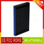 Cargadores portátiles del panel solar de la conversión 4000MAH del 24% para la batería del Tablet PC