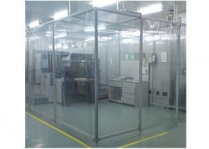 China Class 100 ISO 5  Portable Softwall Clean Room For Drug And Cosmetics Production on sale
