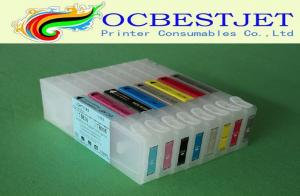 China Empty 350ml 8 Color Epson Printer Ink Cartridges Epson Stylus PRO 7800 9800 on sale