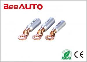 China Bimetallic Compression Copper Tube Terminals Cable Lug Original Aluminium Color on sale