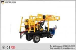 China Multifunctional Water Well Drilling Rig With 200m Drilling Depth Capacity on sale