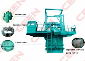 China ZJD2300 / 120 Hydraulic Drill Rig  2.3M Drilling Diameter and 90M / 100M / 120M / 140M depth on sale