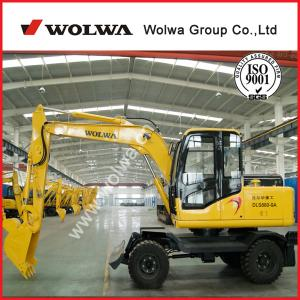 China Wheel excavator mini backhoe mini hydraulic excavator DLS880-9A on sale