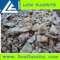 Calcium Fluorite 0-80mm customized size 40% - 90% Fluorite Lump