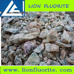 China Metallurgical grade fluorspar (metspar) Low Purity CaF2 40% manufacturing aluminium and stainless steel on sale