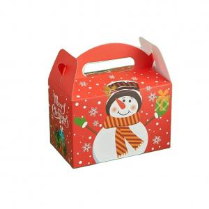 China Eco Friendly Gloss Lamination Food Packaging Box For Cookies on sale