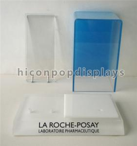 China Acrylic Custom Cosmetic Display Counter / Display Stand For Skin Care Products on sale