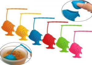 China Tea Ball Loose Leaf Strainer Cup Mug Infuser, Dishwasher Safe,fish on sale