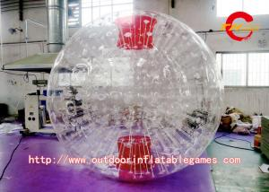 China Transparent Interesting TPU Inflatable Body  Zorb Balls Commercial For Adults on sale