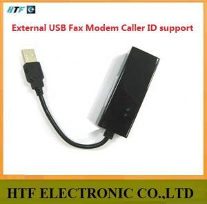 China customized Conexant chipset desktop capacity 56K External Usb Fax Modem on sale