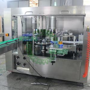 China With Servo Motor Rotary OPP Hot Melt Glue Water Bottle Labeling Machine on sale