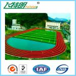 All Weather Tracks 13MM Rubber Running Track Surface Material Sandwich System