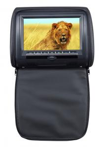 China Sony Lens Car Headrest DVD Players Black , Dual IR / FM Transmitter on sale