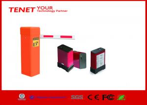 China Automated parking gate barrier , traffic barrier gate with payment machine supplier