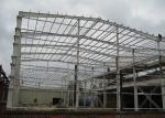 ISO Certificated Prefab Steel Buildings / Prefab Gym Buildings With Steel Shed