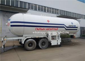 China 40m3 Propane Butane LPG Gas Tanker Truck 12mm Tank Thickness Highly Durable on sale