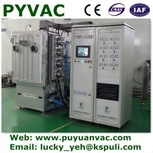 China vacuum coating machine for coating pen/glass ware/glass frames/ on sale