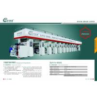 Rotogravure Printing Press Machine with many clours