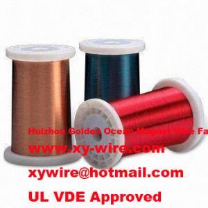 China Class 130℃, Solderable Polyurethane enamelled copper wire on sale