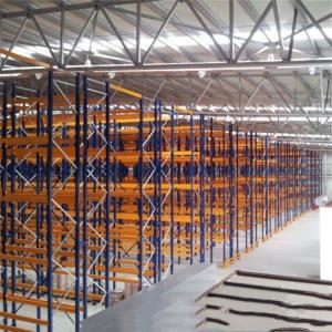 China High Selectivity Heavy Duty Pallet Racks Eco Friendly Pallet Storage Racking on sale