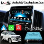 4+64GB Android 9.0 Carplay Video Interface for Toyota Land Cruiser LC200 LC-GT GXR 2018-2021 Touch 3
