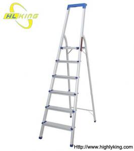 China Aluminium folding Household step ladder(HH-506) on sale