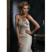 A-Line Halter Sweetheart Court Wedding Dresses 2013 newest