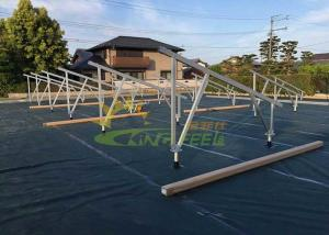 China Easy Installing Solar Pv Mounting Structure , Solar Mounting Frame With Multi Function on sale