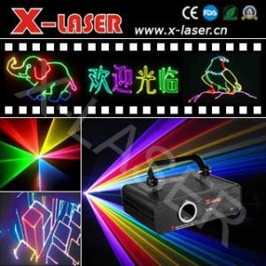 China RGB500MW Full Color Animation Laser Light Projector on sale