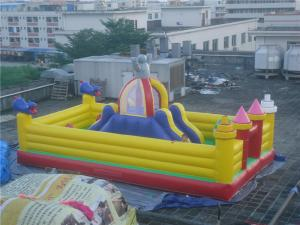 China Indoor and Outdoor Inflatable Amusement Park for Kids / Small Inflatable Castle on sale