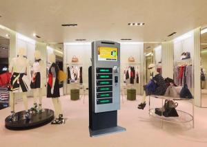 China Shopping Mall Restaurant IPad Cell Phone Mobile Device Charging Station Kiosk on sale