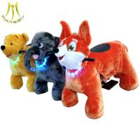 Hansel mechanical animals for mall and ride on toy walking animals from china with stuffed unicorn toy for mall