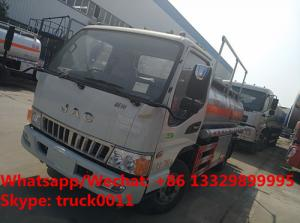 China 2018s high quality and best price JAC brand diesel transporting vehicle for sale, Factory sale cheaper oil tank truck on sale