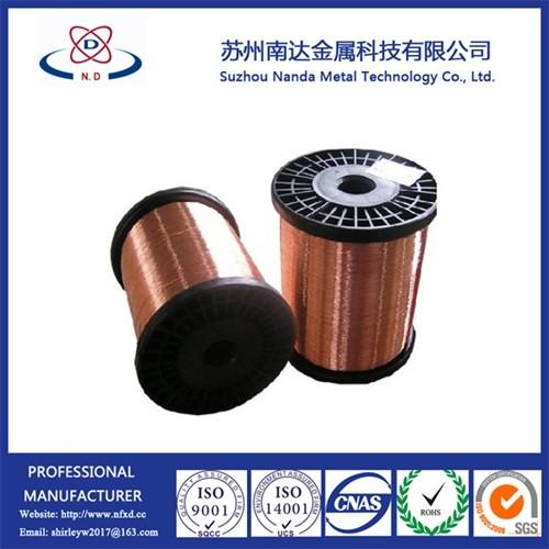 Copper Clad Steel CCS Wire, Not Copper Coated Steel Wire, 15%-40 ...